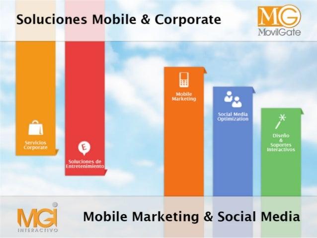Mobile Marketing: Servicios y Soluciones SMS