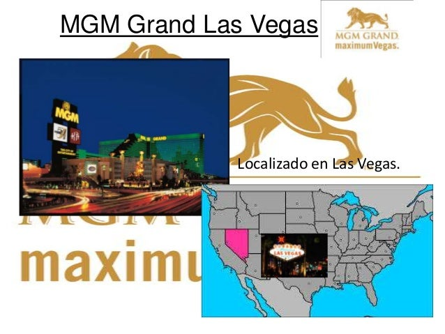 MGM Grand Las Vegas Localizado en Las Vegas.