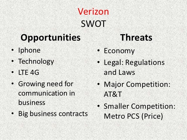 verizon wireless and att analysis Analysis: at&t vision of wireless competition is tough sell  wireless contract  customers in just two companies — itself and verizon wireless.