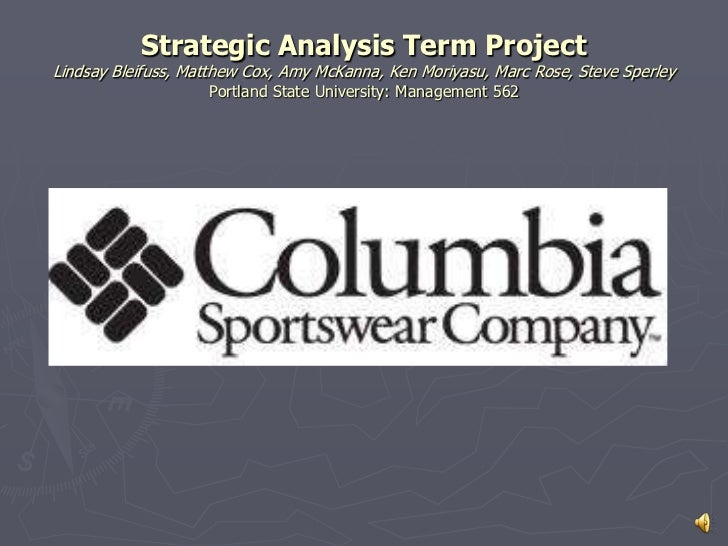 Strategic Analysis Term ProjectLindsay Bleifuss, Matthew Cox, Amy McKanna, Ken Moriyasu, Marc Rose, Steve SperleyPortland ...