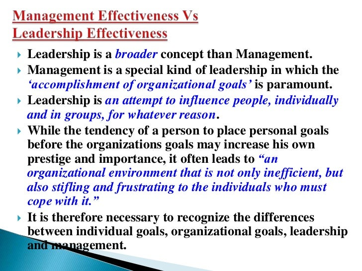 Dissertation on effective leadership