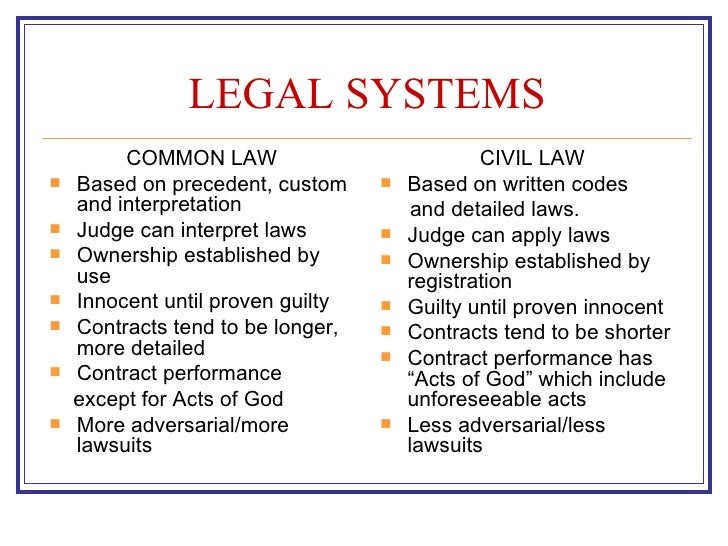 combination of civil and common law in the japanese legal system Common law and continental law: two legal systems law (bgb) and of the french legal system which have adopted the civil law concept.