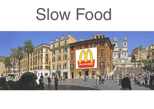 Slow Food Spanische Treppe, Rom