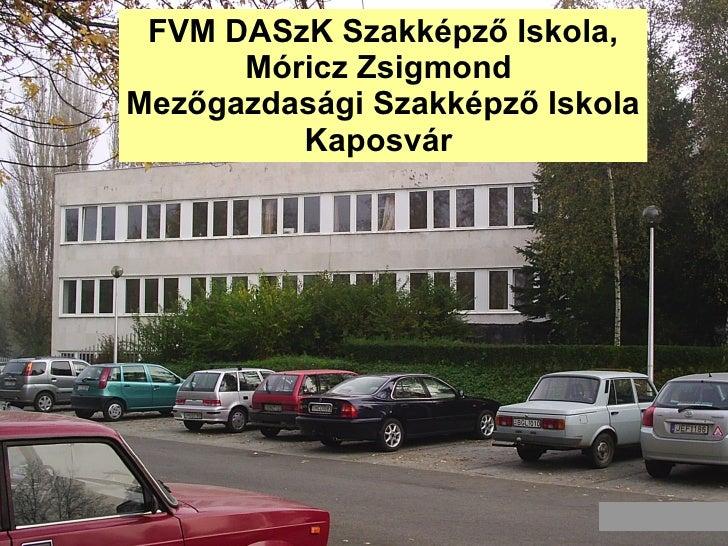 FVM DASzK Szakképző Iskola, Móricz Zsigmond  Mezőgazdasági Szakképző Iskola Kaposvár