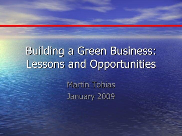 Mgt Building A Green Business Osu Jan09