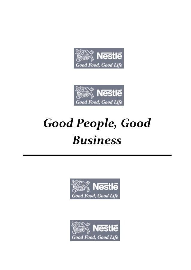 Good People, Good Business