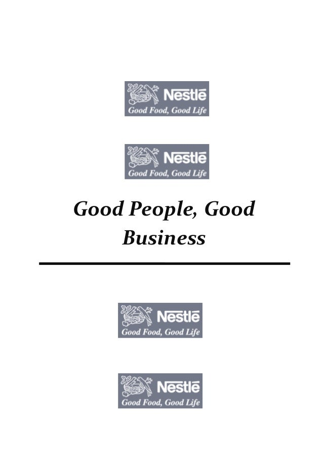 MGT301 term paper - Good People, Good Business