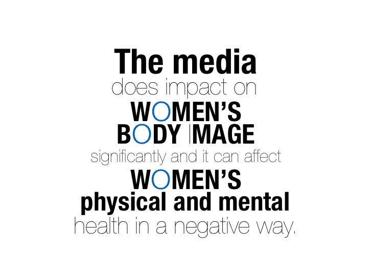 essay about media and body image