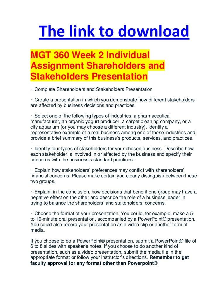 mgt 360 week 5