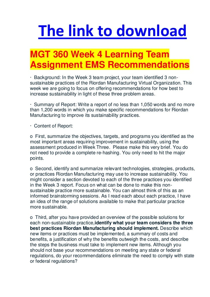 mgt 567 week 4
