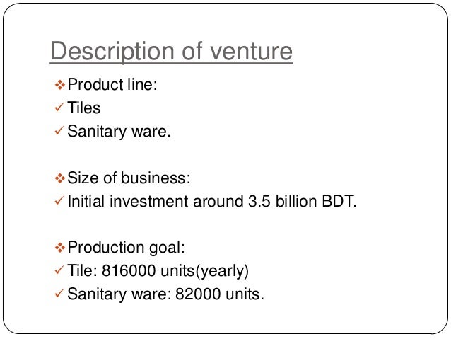 business plan for tile company