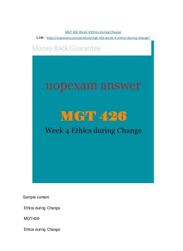 mgt 426 week 4 individual