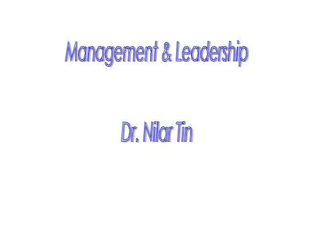 Mgt&leadership