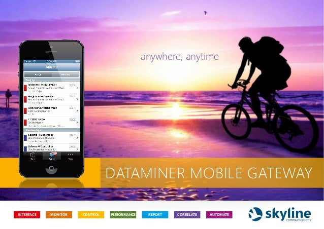 DataMiner Mobile Gateway