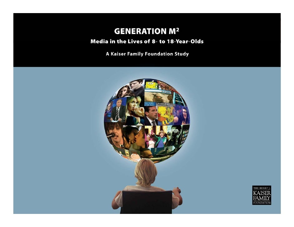 Generation M2: Media in the Lives of 8 to 18 Year Olds