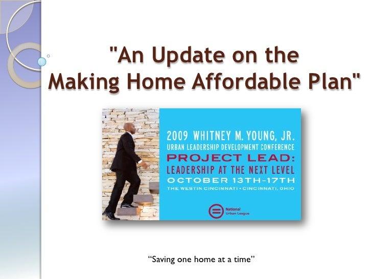 MHA Housing Power Point