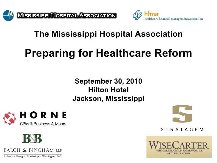 #2 Preparing for Health Care Reform