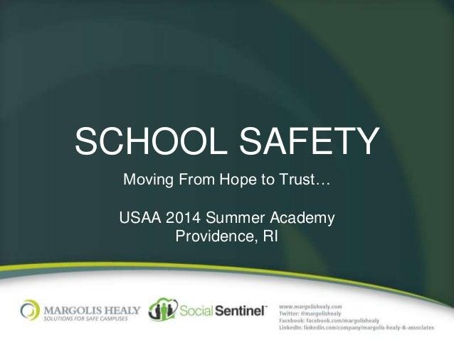 MHA USAA 2014 Summer Academy Presentation