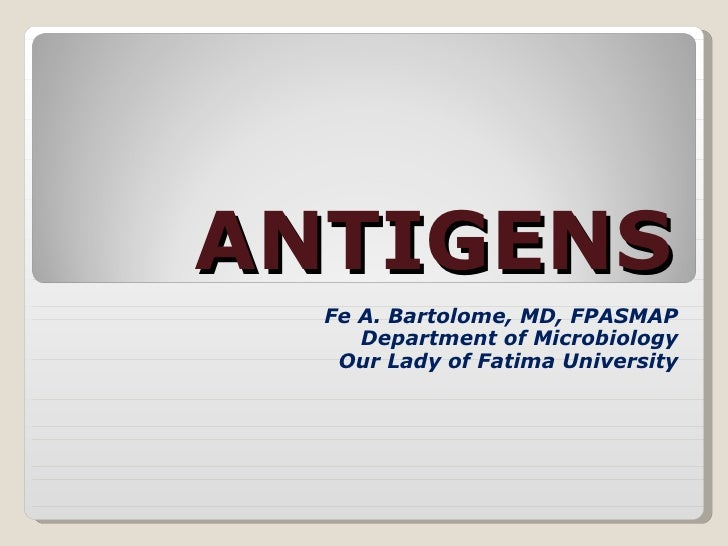 Mhc And Antigens