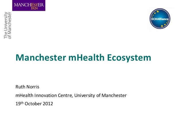 mHealth Manchester ecosystem