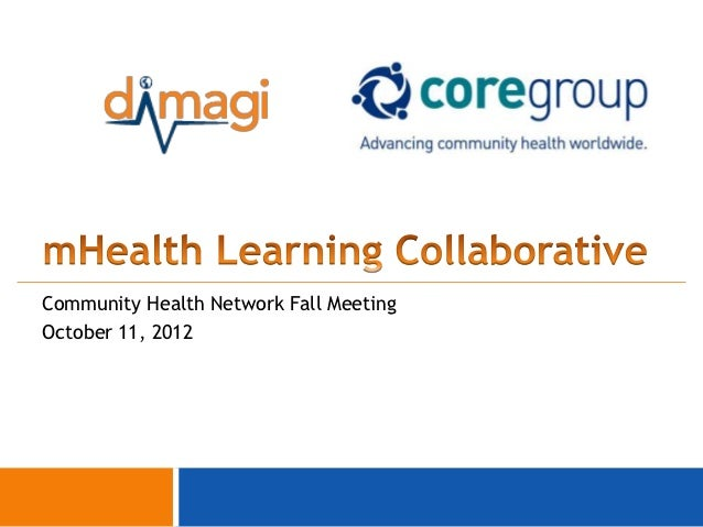 Community Health Network Fall MeetingOctober 11, 2012                                        0