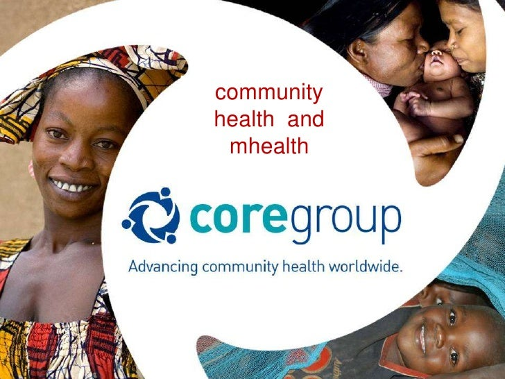 community health  and mhealth<br />