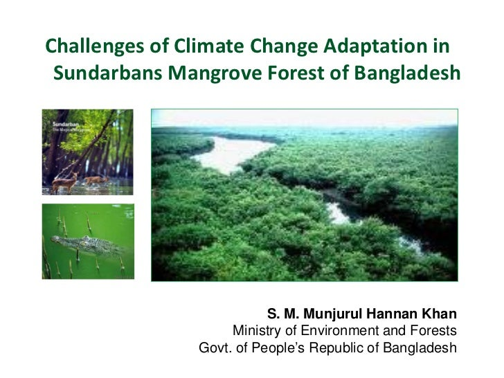 Challenges of Climate Change Adaptation in Sundarbans Mangrove Forest of Bangladesh                          S. M. Munjuru...