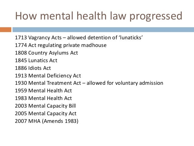 Mental health law in the United Kingdom Topics at DuckDuckGo