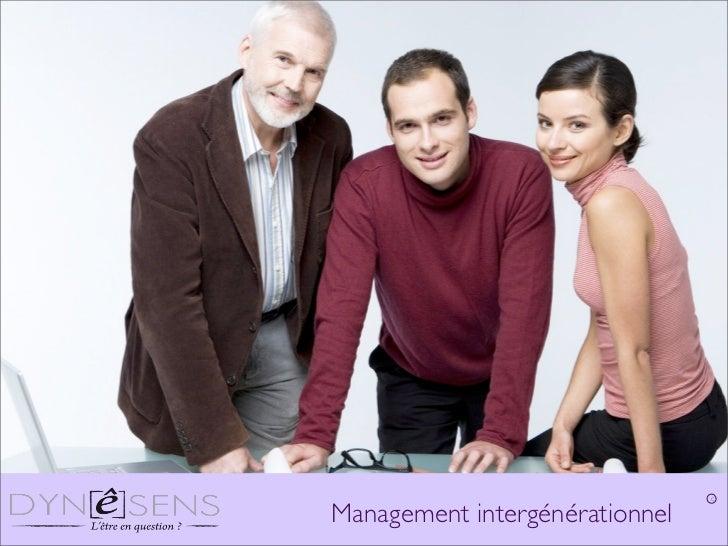 CManagement intergénérationnel