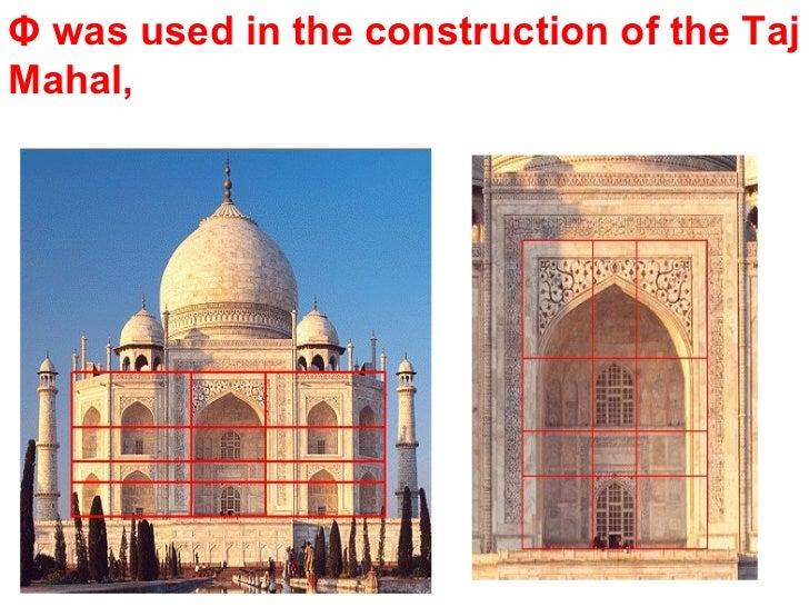 Maths Used In Building Taj Mahal
