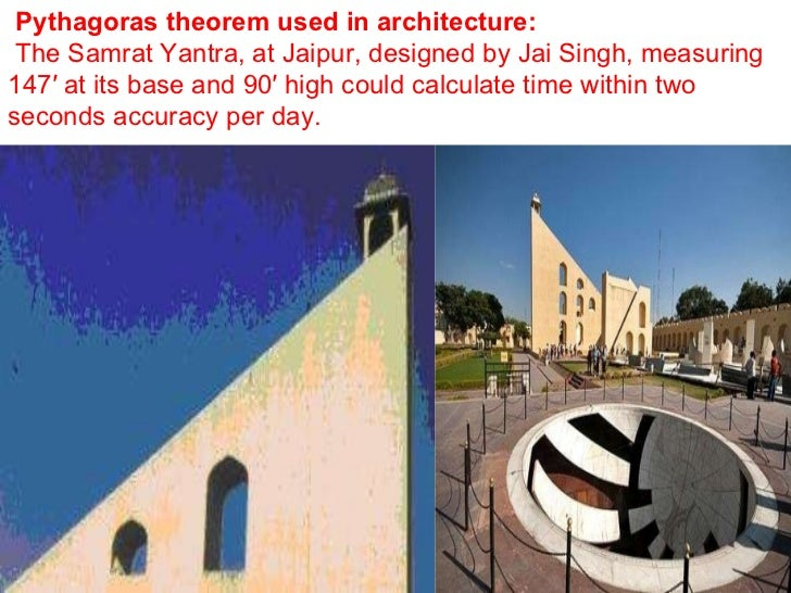 How does an architect use math?