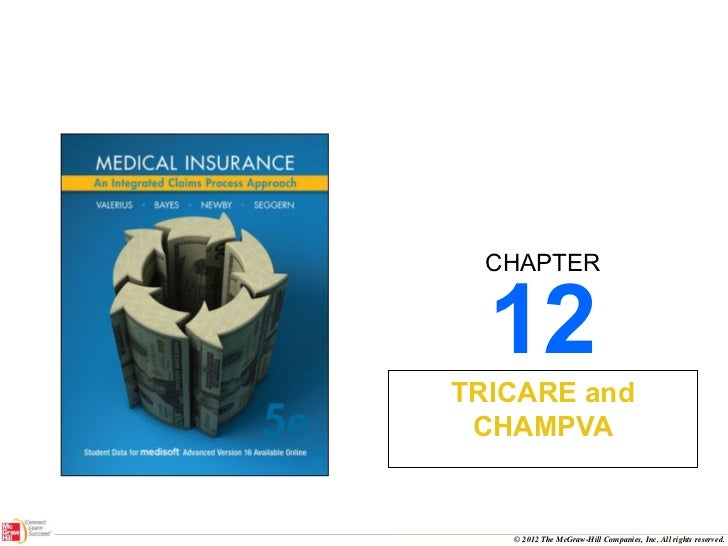 12 TRICARE and CHAMPVA