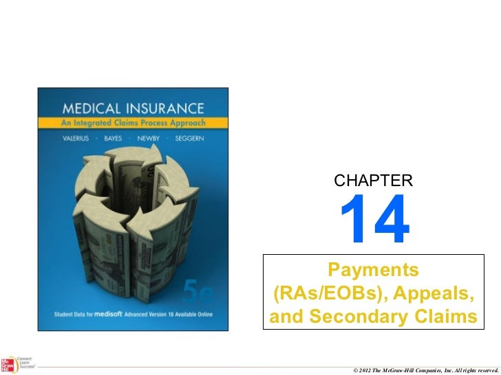 Survey of Medical Insurance pp ch14