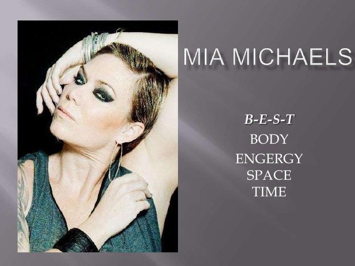 Mia Michaels by. Sarah Bugayong