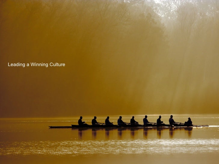 Leading a Winning Culture