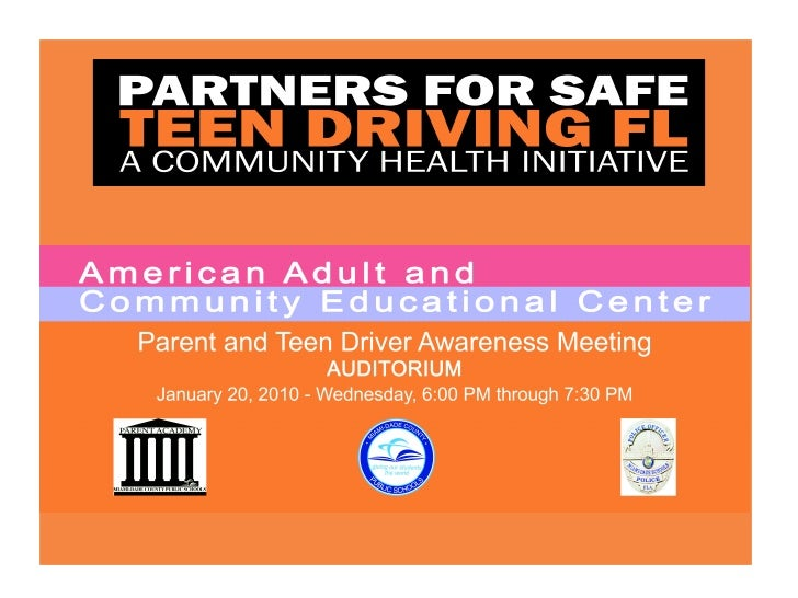 Miami Dade Pilot Safeteen Driving Fl