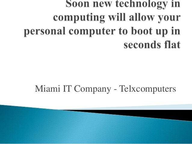 Miami IT Company - Telxcomputers