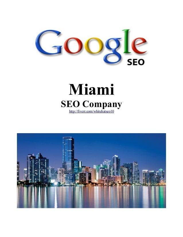 Miami SEO Company