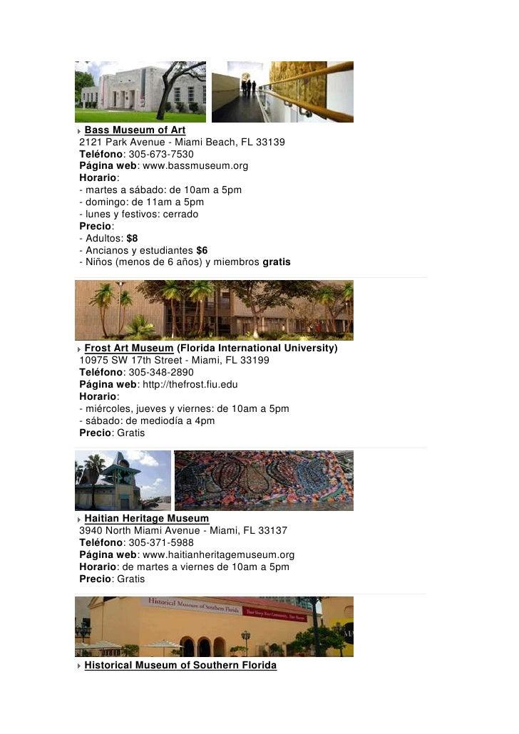Miami Sitios Turisticos