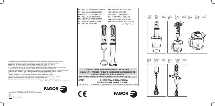 Mi b 450,500,525 - 14. id - Servicio Tecnico Fagor