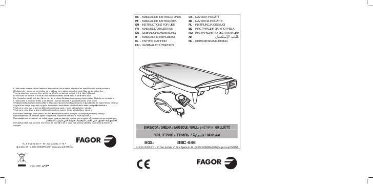Mi bbc 846 - 15 id - Servicio Tecnico Fagor