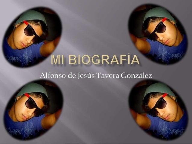 Alfonso de Jesús Tavera González