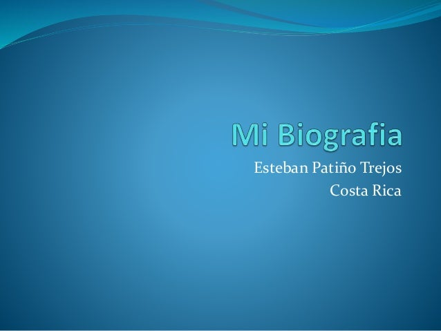 Esteban Patiño Trejos Costa Rica