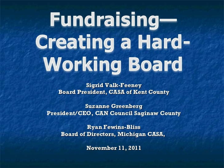 Sigrid Valk-Feeney Board President, CASA of Kent County Suzanne Greenberg President/CEO, CAN Council Saginaw County Ryan F...
