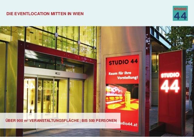 über 900 m2 veranstaltungsfläche | bis 500 personen Die Eventlocation mitten in Wien