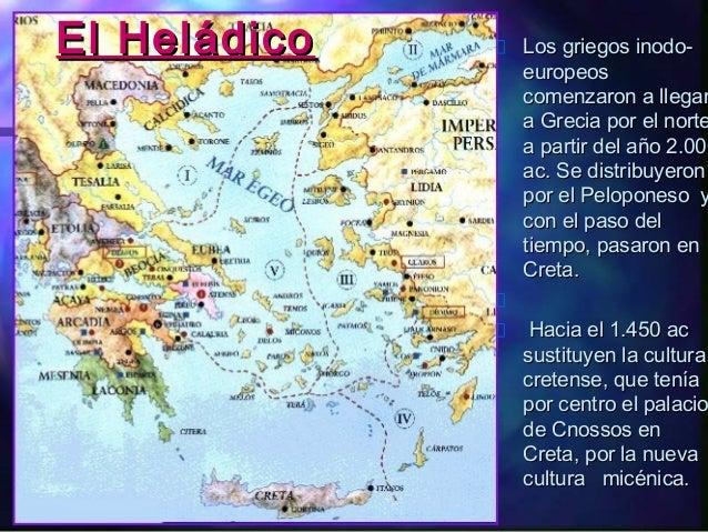 El Bronce en Grecia: Micénico