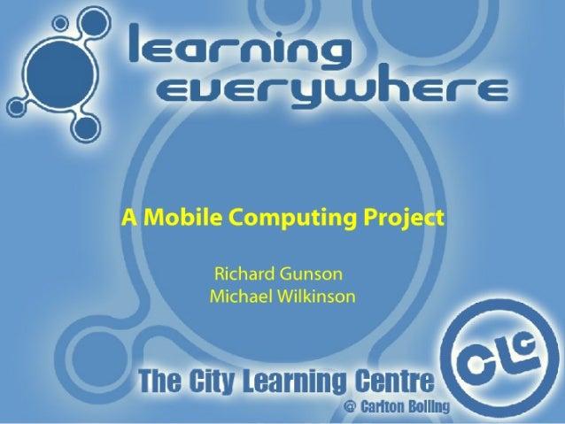 Michael Wilkinson & Richard Gunson, Learning Everywhere