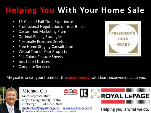 Helping You With Your Home Sale   •   15 Years of Full Time Experience   •   Professional Negotiation on Your Behalf   •  ...