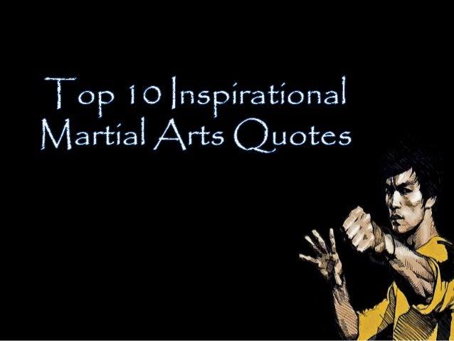 10 inspirational martial arts quotes to get you through