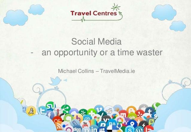 Michael Collins Travel Centres Ireland Conference 2013 #TravelCC13 - TravelMedia.ie